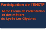 Participation de l'ENSTP